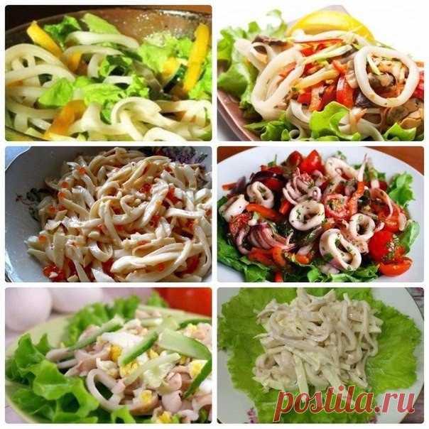 86e5d23d917b Белковый микс  6 вкусных и питательных идей для салата с кальмаром Сохрани  себе пригодится!