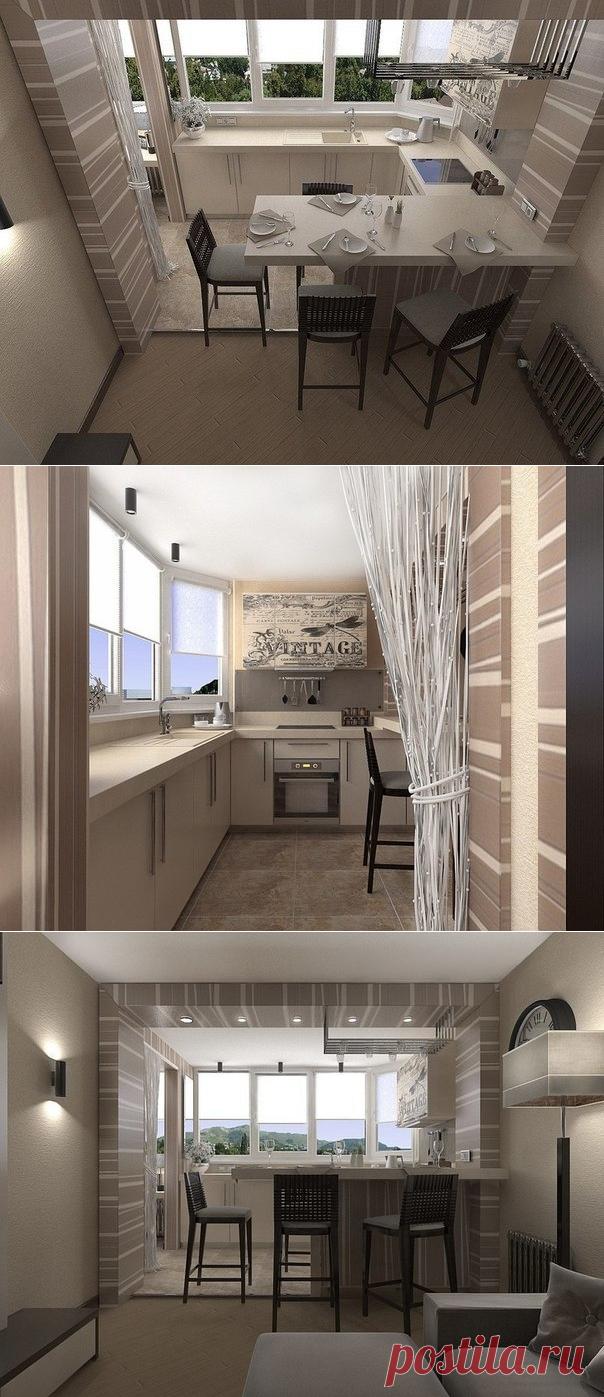 Дизайн квартиры площадью 45 кв.м - Дизайн интерьеров | Идеи вашего дома | Lodgers