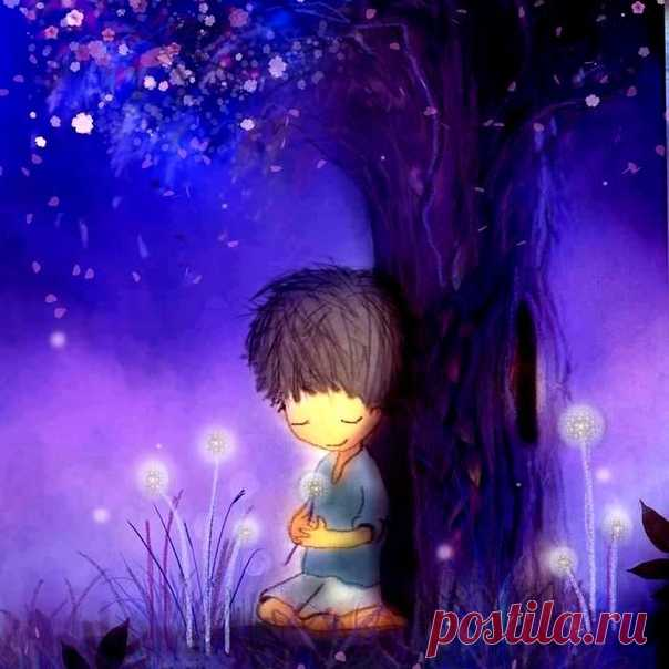 Ночь всегда была временем магии, волшебства и чудес... Дмитрий Блейк