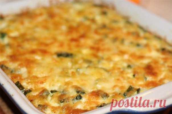 Готовим нежные и аппетитные кабачки, запеченные с сыром