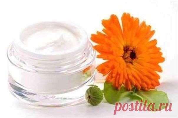 Натуральный крем против старения кожи