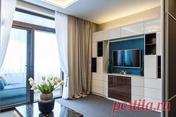 Проект квартиры 34 кв.м в Санкт-Петербурге