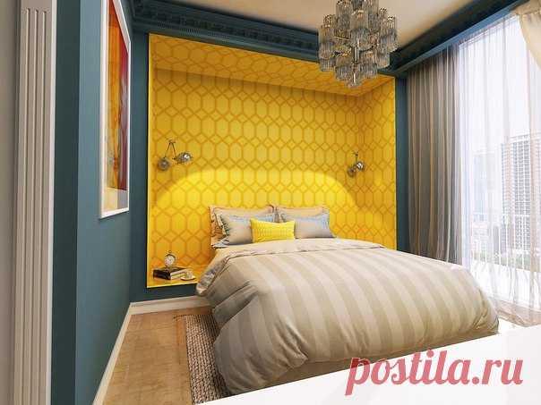 Проект спальни Автор проекта - Черевашко Виолетта