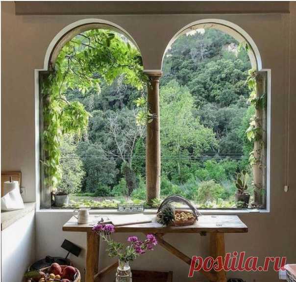 Оконная романтика) ... А у вас как за окном?