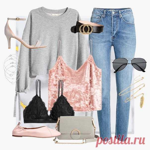 Пастельные оттенки розового и бархатистые фактуры - определенно, одни из главных фаворитов этого сезона. Сочетайте модели, выполненные в нежной цветовой гамме, со стильными джинсами и золотыми аксессуарами, и ваш образ будет безупречен. #HM