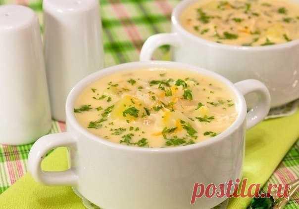 Сырный суп - Пошаговый рецепт с фото своими руками Сырный суп - Простой пошаговый рецепт приготовления в домашних условиях с фото. Сырный суп - Состав, калорийность и ингредиенти вкусного рецепта.