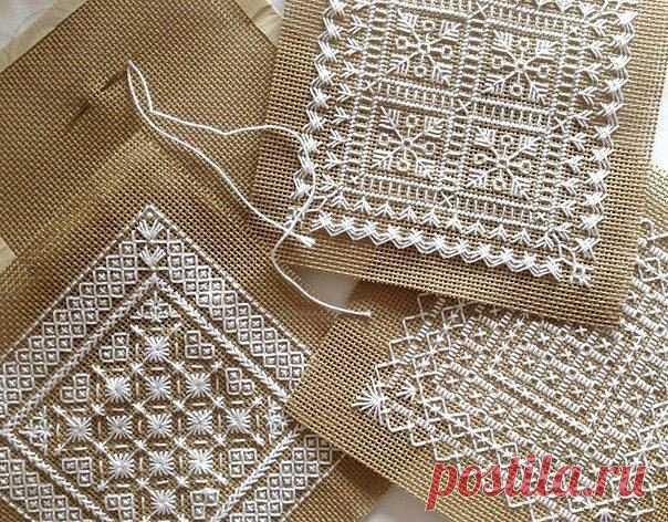 Схемы для нежной вышивки Схемы для нежной вышивки можно выполнить быстрее за счет того, что они монохромные.