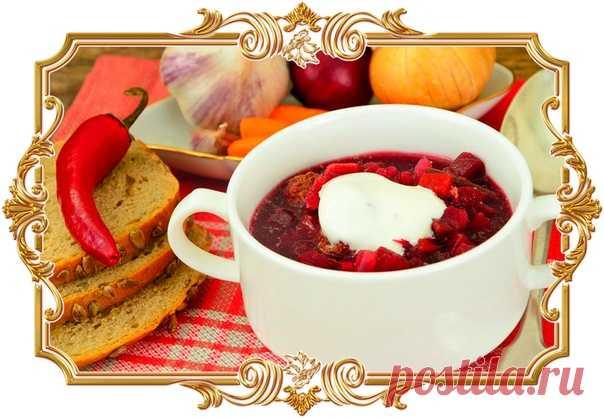Суп с фрикадельками и свёклой  Этот простой суп получается удивительно вкусным благодаря рису и томлёным овощам, а свёкла придаёт блюду красивый цвет. Подавать лучше со сметаной и зеленью.  Время готовки: 45 мин. Показать полностью…