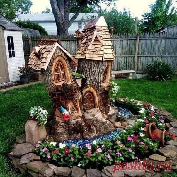 Идея для декора двора