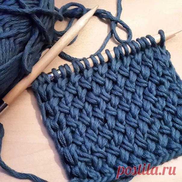 Плетенка в вязании