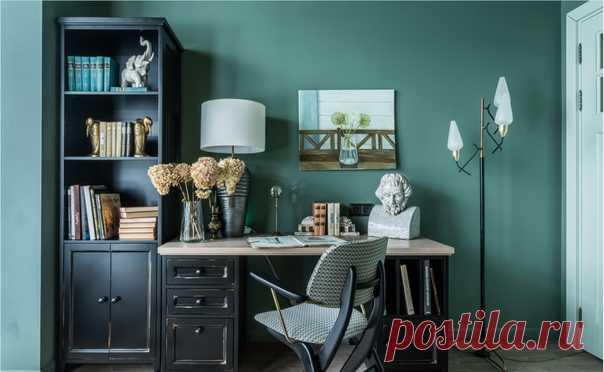 Вдохновения для домашнего уюта: кабинет в классическом стиле
