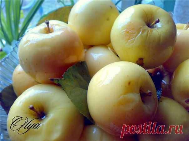 Рецепт моченых яблок | Семья и дом Заготавливают здоровые, крепкие яблоки осенне-зимних или зимних сортов, которые обладают кислым вкусом и плотной мякотью. Яблоки летних сортов не подходят для этой цели, их лучше использовать в других рецептах.