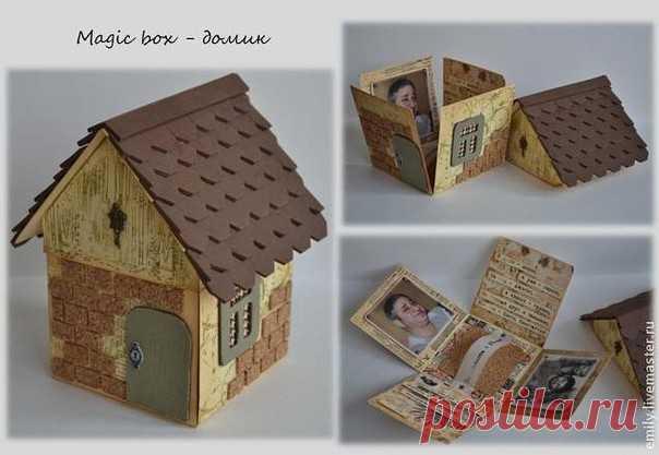 Мастер-класс: подарочная коробочка