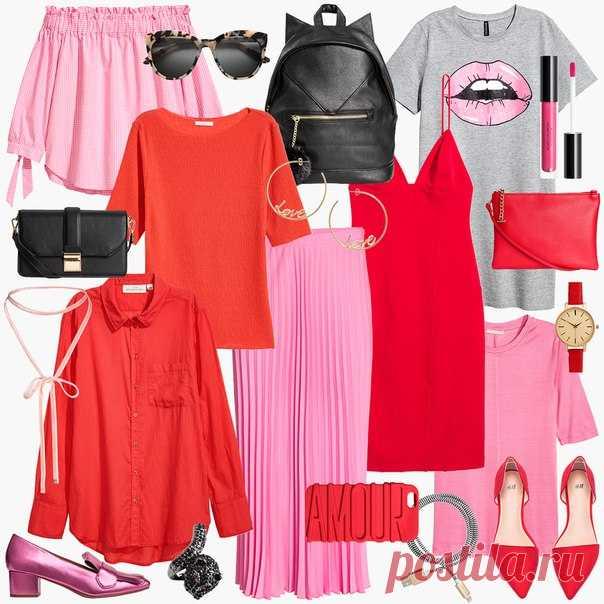 Планируете посетить Московскую Неделю Моды? Значит, пора выбирать эффектный наряд! Предлагаем вам взять на заметку проверенный многими из звёзд стрит-стайла приём - смело комбинируйте красное с розовым. Поверьте, подобный образ сможет покорить любой подиум! #HM