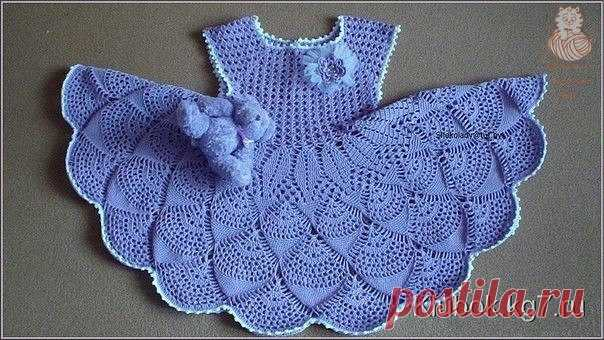Dress for the baby a hook