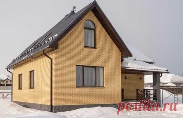 Классный дом из кирпича, а главное - свой  Размер 11х9