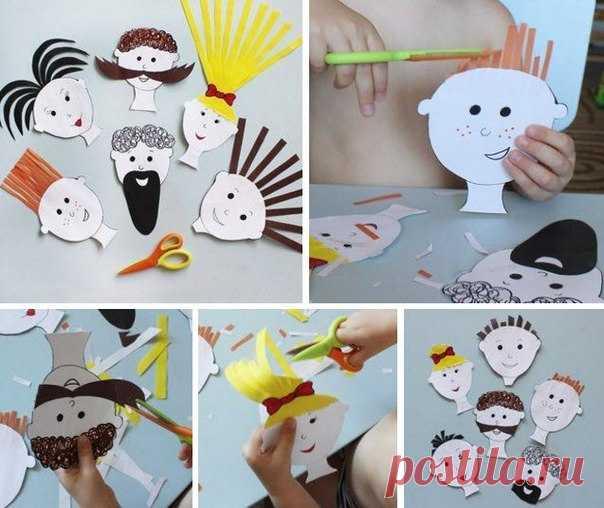 Если ваш ребенок любит всех подстригать )))