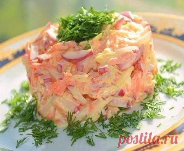 По просьбе читателей — салат для похудения с морковью! | Диеты со всего света