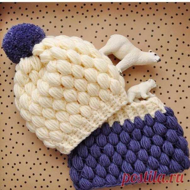 теплая шапочка крючком вязание крючком детские шапочки шапки
