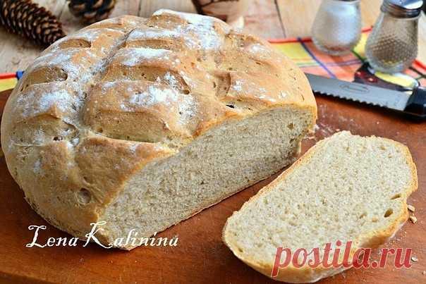 Пшенично-ржаной хлеб в духовке от Елены Калининой | Полезные советы домохозяйкам
