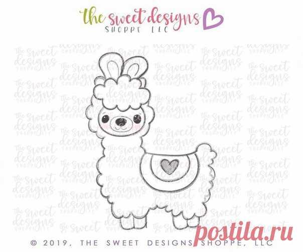 Шаблоны для вышивки ламы  #embroidery@thestylishpatterns