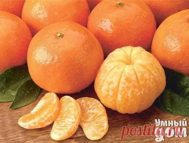 17 reasons to eat tangerine.