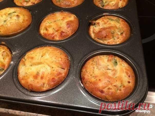 La amiga ha dictado prikolnyy la receta: las Gallináceas maffiny con el queso