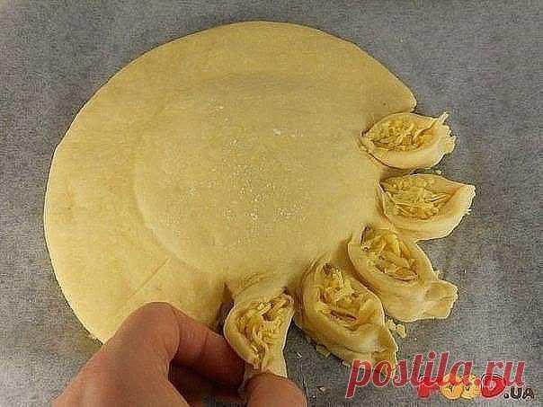 как красиво защипывать пирожки фото