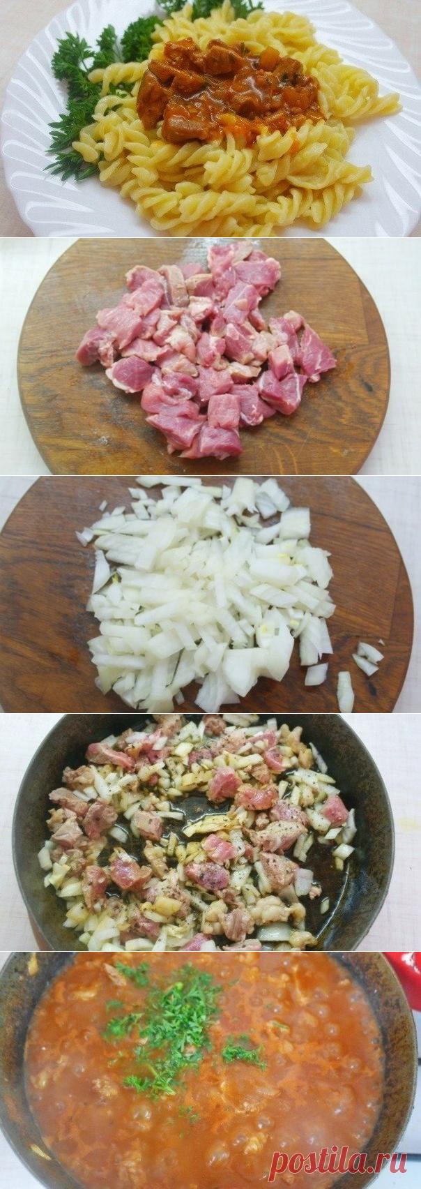 Как приготовить мясная подлива-соус для вторых блюд - рецепт, ингредиенты и фотографии
