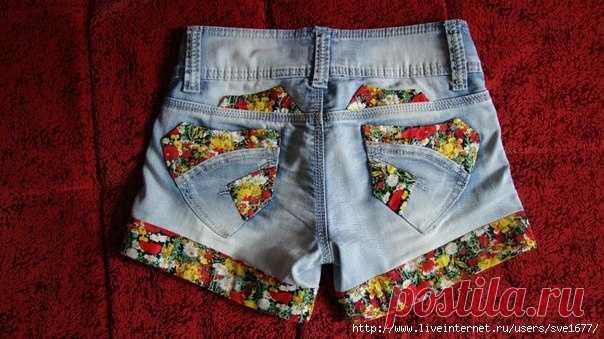 Los shorts con la aplicación (casi Diy) \/ los Shorts \/ la SEGUNDA CALLE