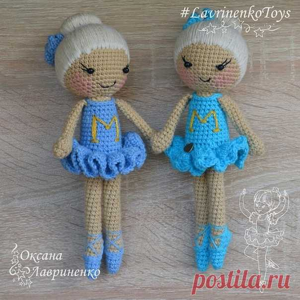 Вязаная кукла балерина амигуруми.  автор: Оксана Лавриненко. Для вязания понадобятся: — крючок №1,75; Показать полностью...