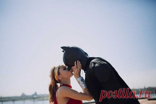 Love-story в супергеройском стиле 💥