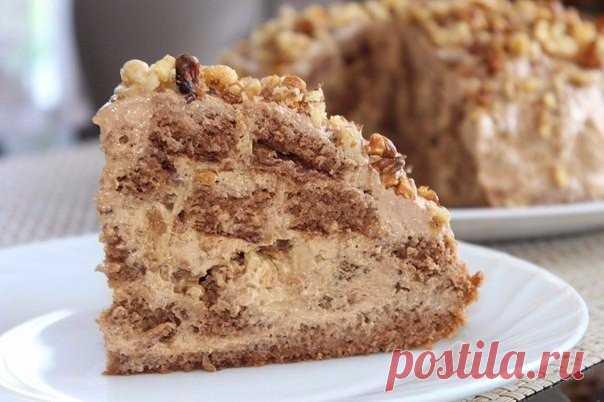 Как приготовить торт несквик - рецепт, ингредиенты и фотографии