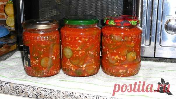 Огурцы в заливке.  2 кг помидор, 2 головки чеснока, 300гр болгарского перца, Показать полностью…