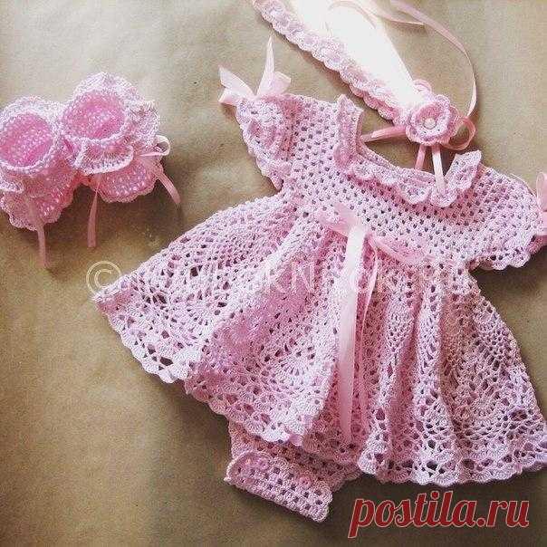 Платье - боди для девочки