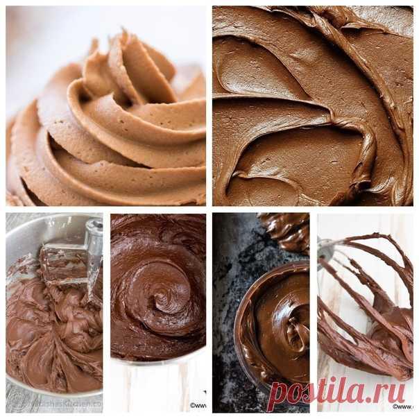 7 рецептов шоколадного крема! 1. Ганаш Ингредиенты: 200 мл сливок 35% 200 г темного шоколада Показать полностью...