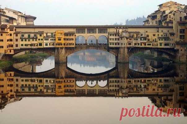 Мост Понте Веккио, Флоренция, Италия