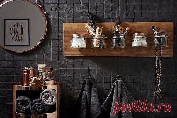Оригинальный органайзер в ванную комнату