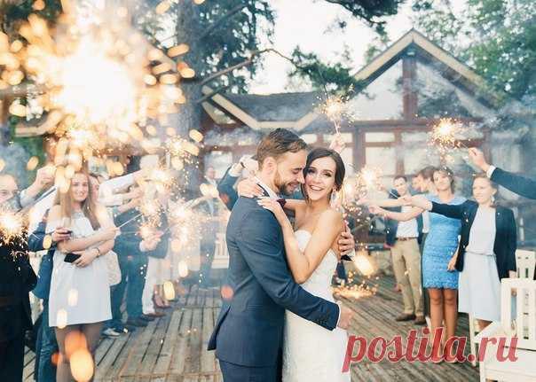 ✨ Пусть финал твоей свадьбы будет незабываемым! ✨