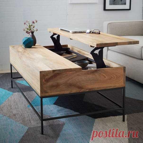 журнальный столик трансформер мебель ширмы своими руками постила