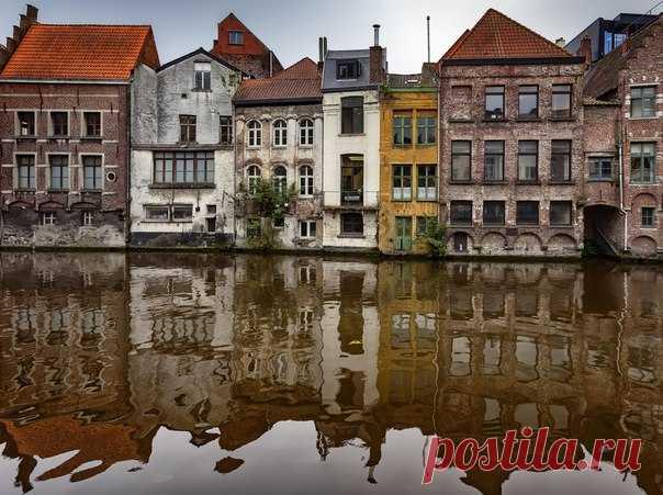 Одна из улиц в бельгийском городе Гент. Автор фото – АБ: nat-geo.ru/photo/user/296085/