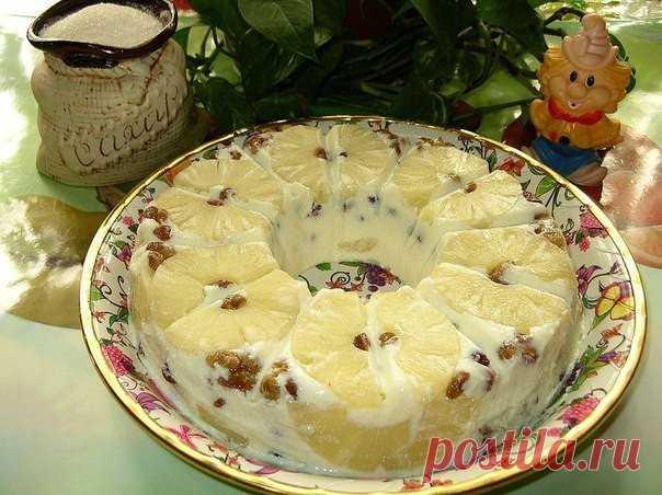 """Лучшие кулинарные рецепты : Творожный десерт """"Старая Рига"""""""