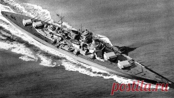 Чтобы спрятать 250-метровый корабль, немцы применили особую маскировку. К несчастью, она сильно аукнулась на экосистеме одного фьорда.