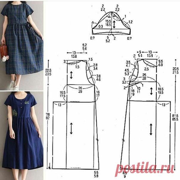 Легкие выкройки летней одежды 52 размера. | О рукоделии, и не только. 🧵✂️👜 | Яндекс Дзен