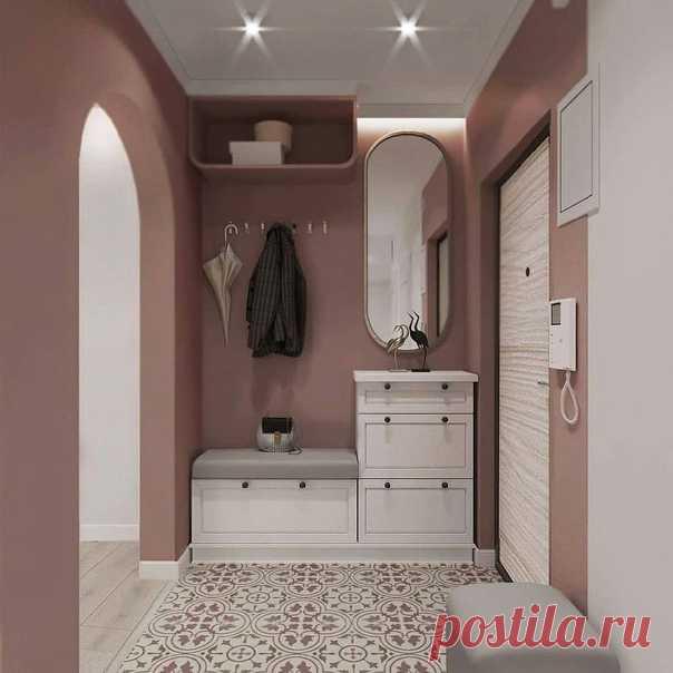Прекрасная однокомнатная квартира с зонированием спальни и гостиной.