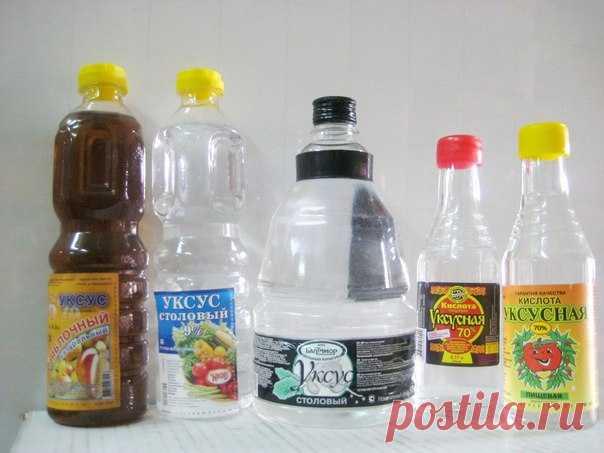 Чтобы получить столовый уксус из 70%-ной уксусной кислоты, нужно соблюсти следующие пропорции:   9%-ный уксус — 1 ложка кислоты на 7 ложек воды;  6%-ный уксус — 1 ложка кислоты на 11 ложек воды;  3%-ный уксус — 1 ложка кислоты на 20 ложек воды. Показать полностью…