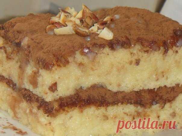 Бисквитный торт пропитанный сгущенкой: рецепт для тех, кто дорожит временем!