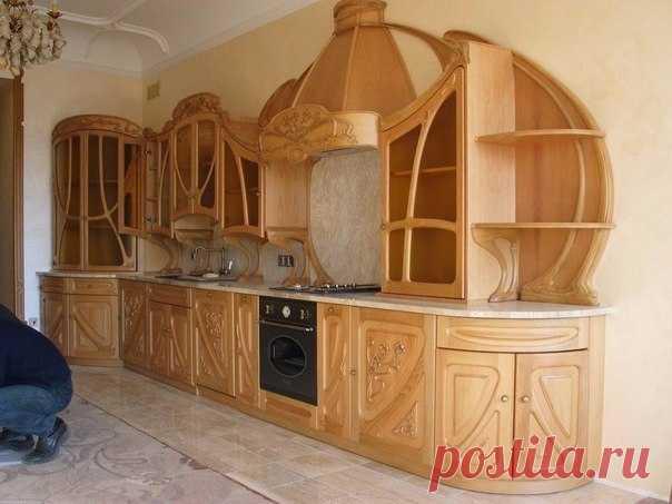 Кухня ручной работы. У мастера золотые руки!