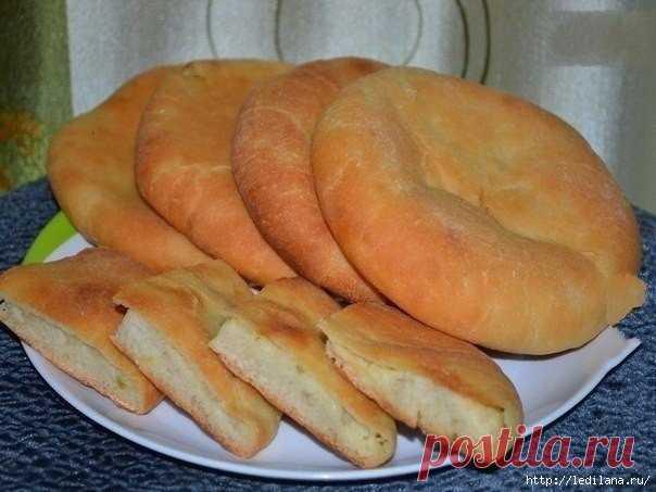 Вкусные пироги с картошкой и луком