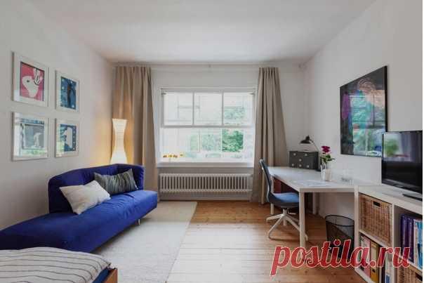 Однокомнатная квартира в Германии